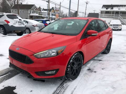 2016 Ford Focus for sale at JB Auto Sales in Schenectady NY