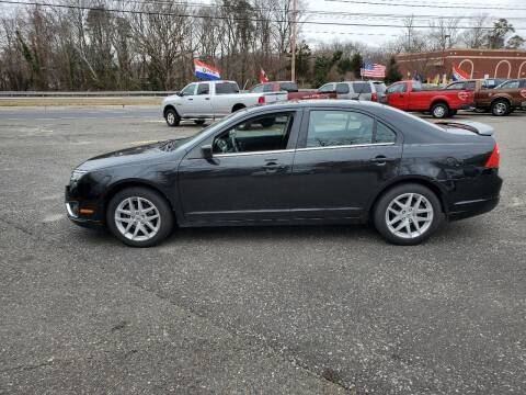 2012 Ford Fusion for sale at CANDOR INC in Toms River NJ