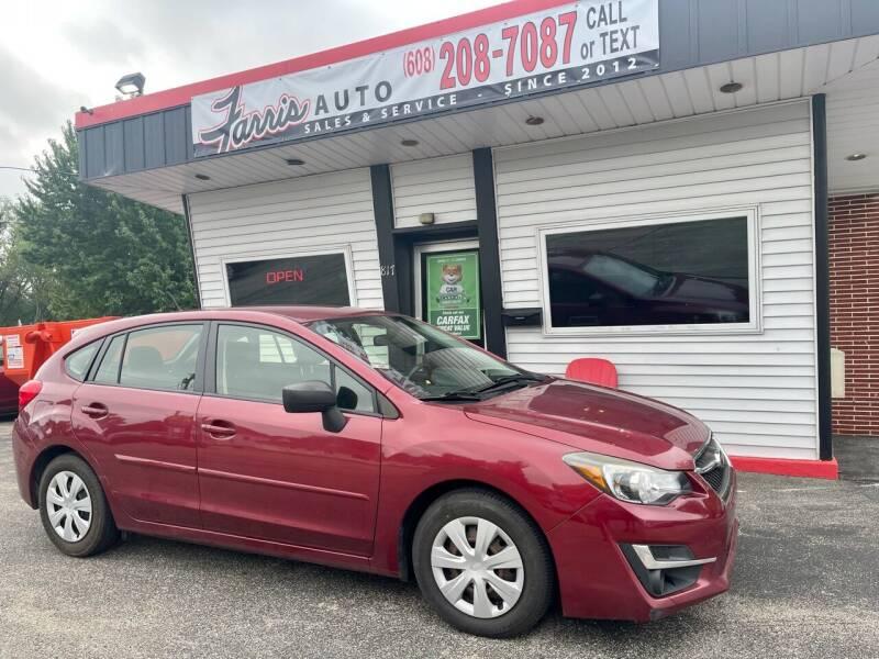 2015 Subaru Impreza for sale at Farris Auto in Cottage Grove WI