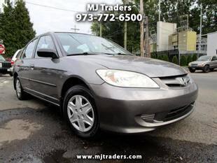 2005 Honda Civic for sale at M J Traders Ltd. in Garfield NJ