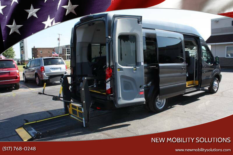 2019 Ford Transit Passenger for sale at New Mobility Solutions in Jackson MI