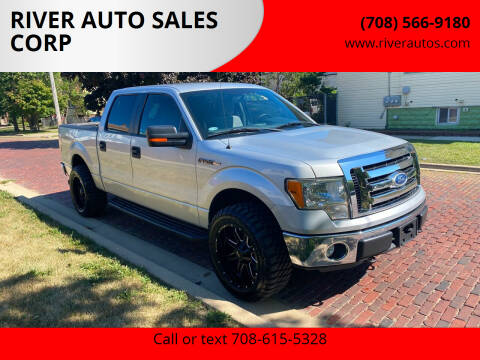 2011 Ford F-150 for sale at RIVER AUTO SALES CORP in Maywood IL
