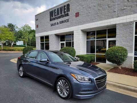 2015 Hyundai Genesis for sale at Weaver Motorsports Inc in Cary NC
