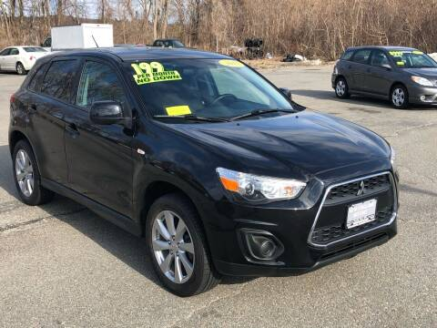 2015 Mitsubishi Outlander Sport for sale at New England Motors of Leominster, Inc in Leominster MA