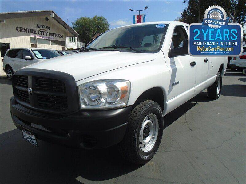 2008 Dodge Ram Pickup 1500 for sale at Centre City Motors in Escondido CA