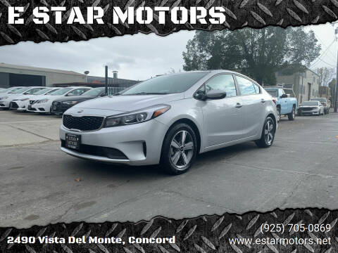 2018 Kia Forte for sale at E STAR MOTORS in Concord CA