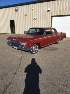 1962 Chevrolet Impala for sale at Classic Car Deals in Cadillac MI