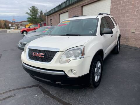 2010 GMC Acadia for sale at 924 Auto Corp in Sheppton PA