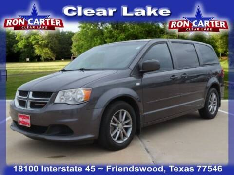 2014 Dodge Grand Caravan for sale at Ron Carter  Clear Lake Used Cars in Houston TX