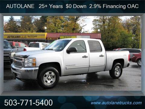 2012 Chevrolet Silverado 1500 for sale at Auto Lane in Portland OR