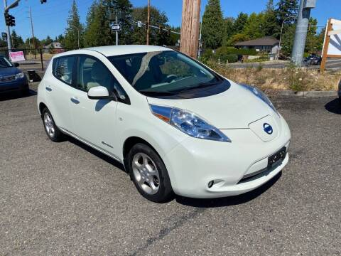 2011 Nissan LEAF for sale at KARMA AUTO SALES in Federal Way WA