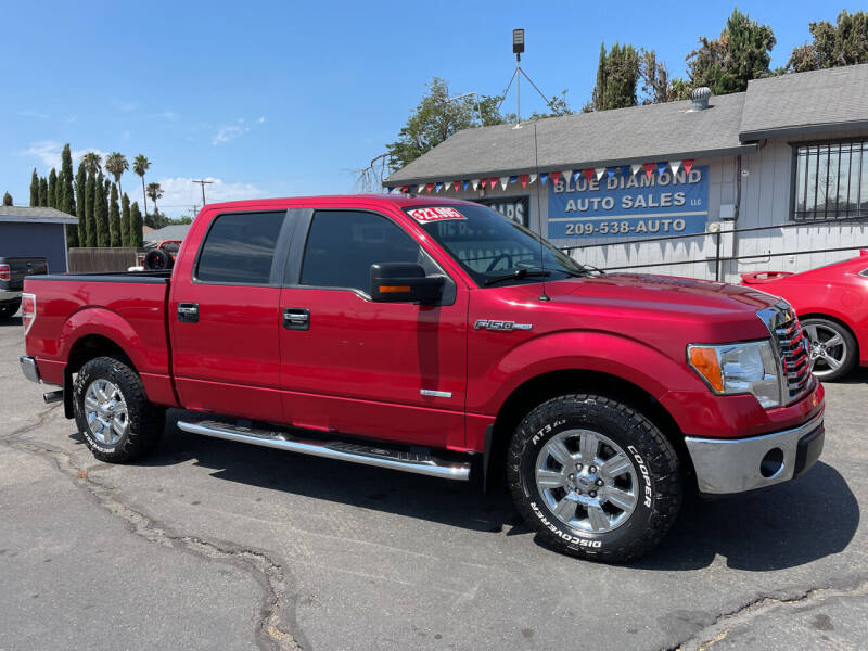 2012 Ford F-150 for sale at Blue Diamond Auto Sales in Ceres CA