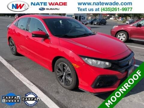 2017 Honda Civic for sale at NATE WADE SUBARU in Salt Lake City UT