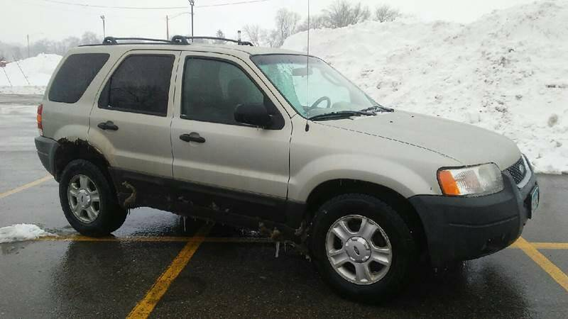 2003 Ford Escape for sale at Southtown Auto Sales in Albert Lea MN