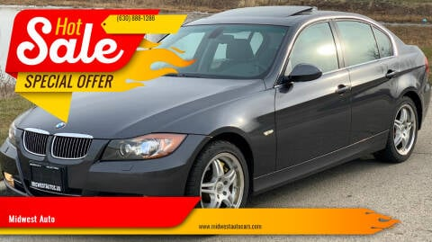 2007 BMW 3 Series for sale at Midwest Auto in Naperville IL