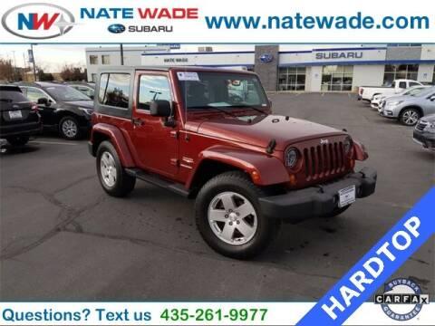 2007 Jeep Wrangler for sale at NATE WADE SUBARU in Salt Lake City UT