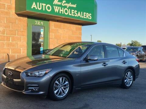 2016 Infiniti Q50 for sale at New England Wholesalers in Springfield MA