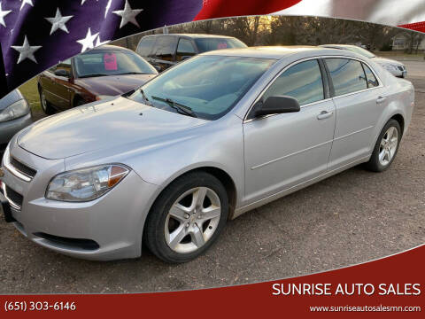 2011 Chevrolet Malibu for sale at Sunrise Auto Sales in Stacy MN
