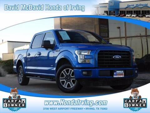 2016 Ford F-150 for sale at DAVID McDAVID HONDA OF IRVING in Irving TX