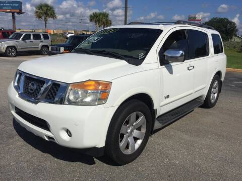 2008 Nissan Armada for sale at CARZ4YOU.com in Robertsdale AL