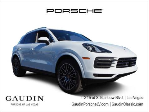 2021 Porsche Cayenne for sale at Gaudin Porsche in Las Vegas NV