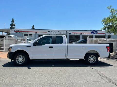 2018 Ford F-150 for sale at MOTOR CARS INC in Tulare CA