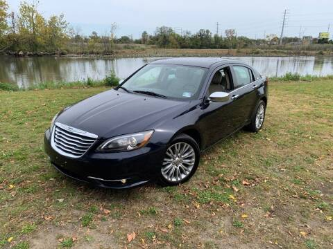 2012 Chrysler 200 for sale at Ace's Auto Sales in Westville NJ