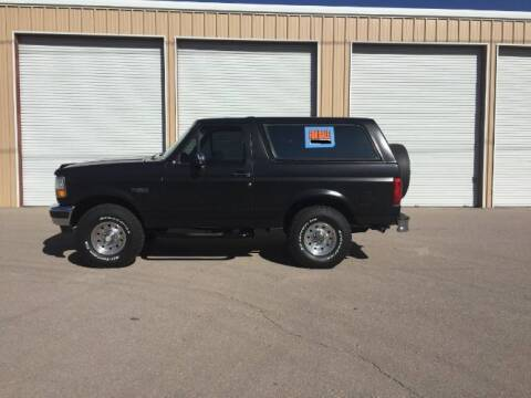 1995 Ford Bronco for sale at Classic Car Deals in Cadillac MI