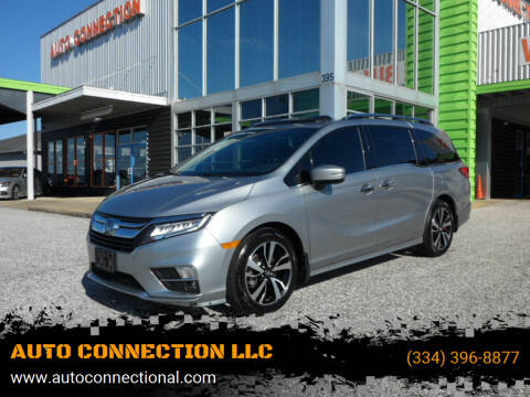 2020 Honda Odyssey for sale at AUTO CONNECTION LLC in Montgomery AL
