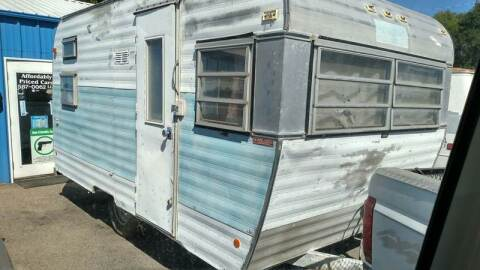1969 FAN Travel Trailer for sale at AFFORDABLY PRICED CARS LLC in Mountain Home ID