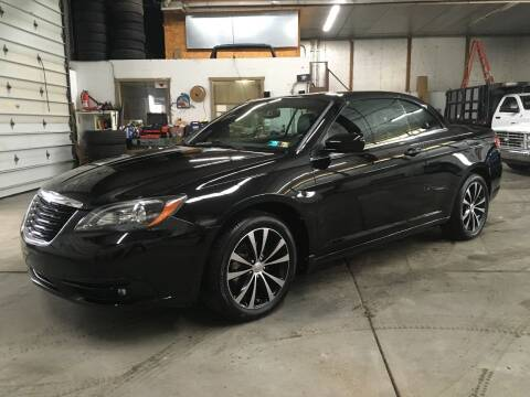 2011 Chrysler 200 Convertible for sale at T James Motorsports in Gibsonia PA