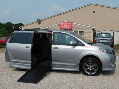2011 Toyota Sienna for sale at Macrocar Sales Inc in Akron OH