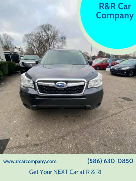 2014 Subaru Forester for sale at R&R Car Company in Mount Clemens MI