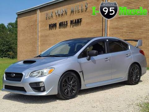 2015 Subaru WRX for sale at I-95 Muscle in Hope Mills NC