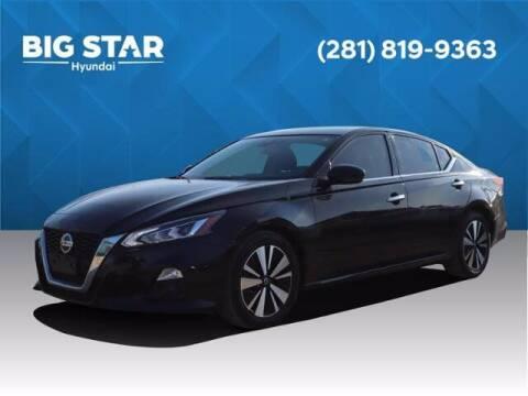2019 Nissan Altima for sale at BIG STAR HYUNDAI in Houston TX