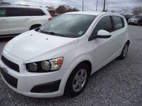 2016 Chevrolet Sonic for sale at PICAYUNE AUTO SALES in Picayune MS