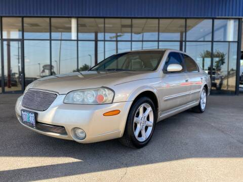 2002 Nissan Maxima for sale at South Commercial Auto Sales in Salem OR