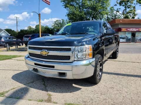 2012 Chevrolet Silverado 1500 for sale at Lamarina Auto Sales in Dearborn Heights MI