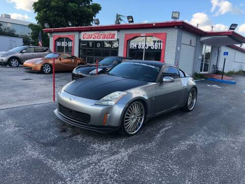 2003 Nissan 350Z for sale at CARSTRADA in Hollywood FL
