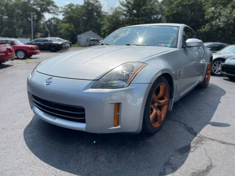 2006 Nissan 350Z for sale at SOUTH SHORE AUTO GALLERY, INC. in Abington MA
