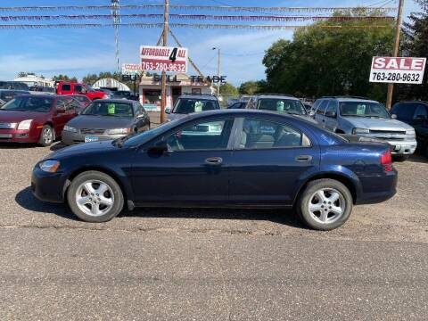 2004 Dodge Stratus for sale at Affordable 4 All Auto Sales in Elk River MN