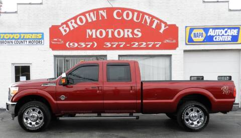 2014 Ford F-250 Super Duty for sale at Brown County Motors in Russellville OH
