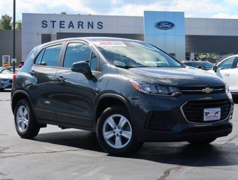 2020 Chevrolet Trax for sale at Stearns Ford in Burlington NC