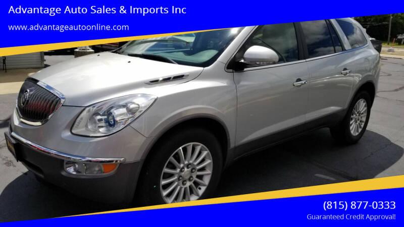 2012 Buick Enclave for sale at Advantage Auto Sales & Imports Inc in Loves Park IL