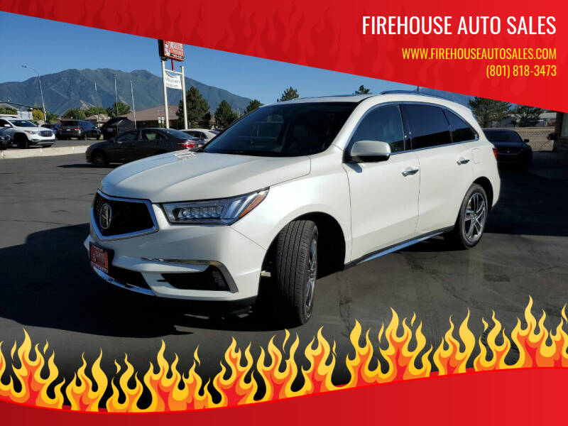 2017 Acura MDX for sale at Firehouse Auto Sales in Springville UT