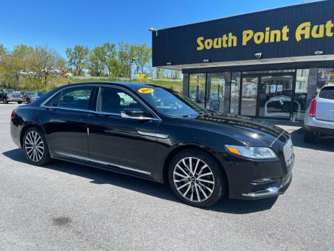 2017 Lincoln Continental for sale at South Point Auto Plaza, Inc. in Albany NY