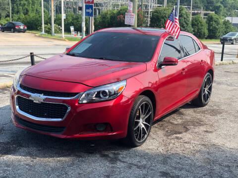 2014 Chevrolet Malibu for sale at TEAM AUTO SALES in Atlanta GA