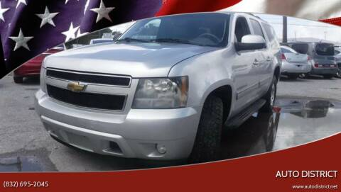 2011 Chevrolet Suburban for sale at Auto District in Baytown TX