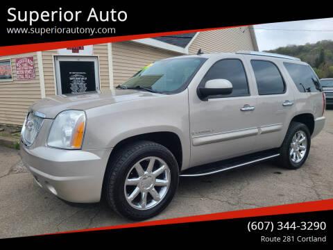 2008 GMC Yukon for sale at Superior Auto in Cortland NY