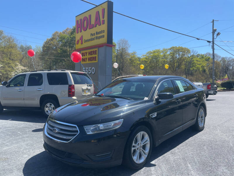 2013 Ford Taurus for sale at No Full Coverage Auto Sales in Austell GA